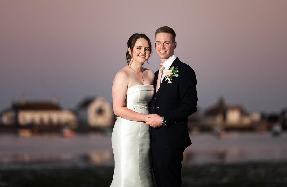 Christchurch harbour hotel wedding photos