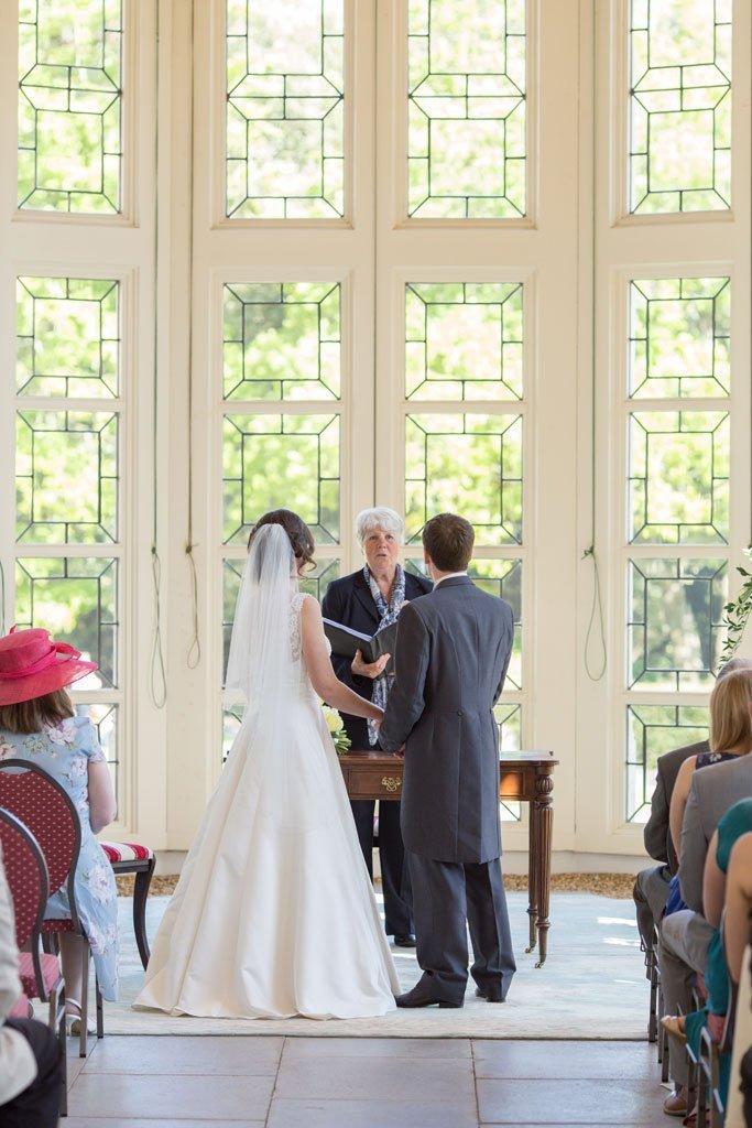 Highcliffe castle wedding ceremony room
