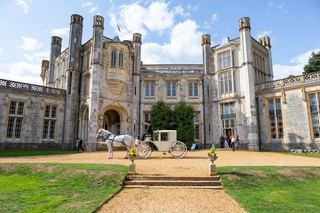 Dream weddings at Highcliffe castle
